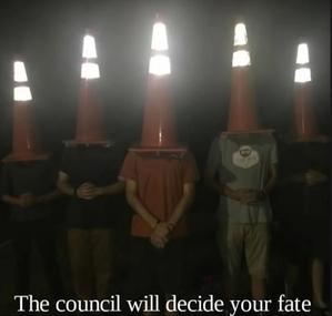 a luminous cone Discord Pfp
